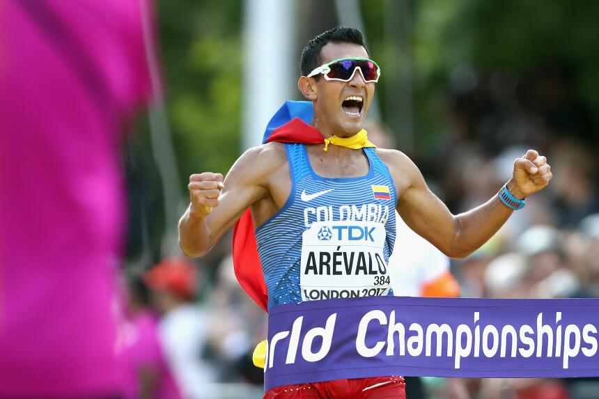 El colombiano Éider Arévalo, el único oro masculino de latinoamérica en...