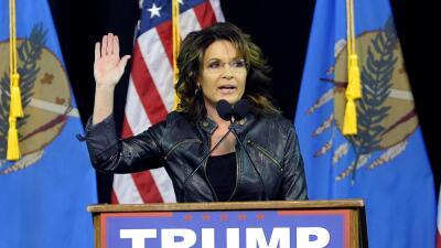 El retorno de Sarah Palin a la escena política, al lado de Trump