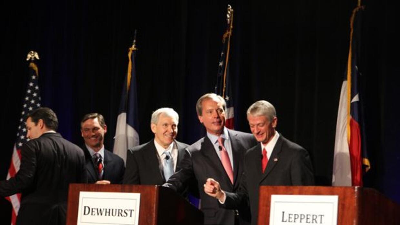 Cinco candidatos republicanos a ocupar el escaño de Texas en el Senado F...