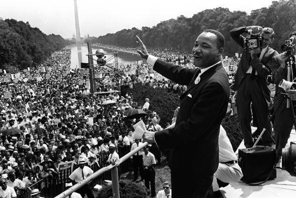 """""""Tengo un sueño: que mis cuatro hijos vivirán un día en una nación en la..."""