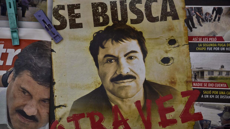Diarios mexicanos reportando la fuga de El Chapo Guzmán.