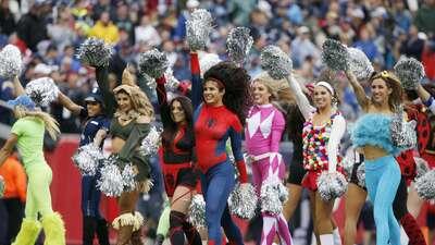 ¡Disfraces imperdibles!: así se disfruta con colorido el Halloween en la NFL