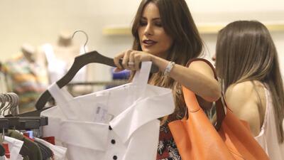 Sofía Vergara se fue de compras y descubrimos qué fue lo que tanto le gustó (y cuánto cuesta)