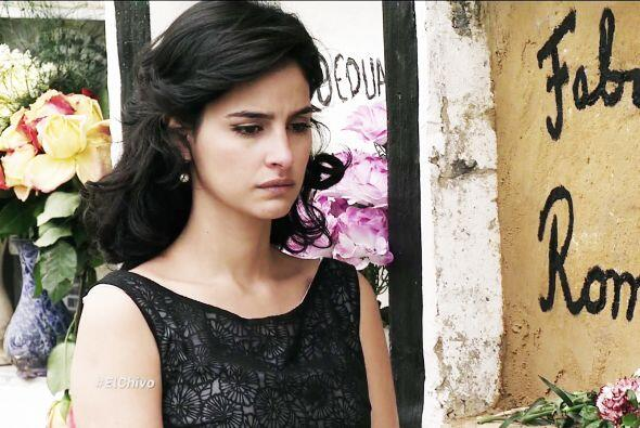 Ángela le dio el último adiós a Fabricio creyendo que la había engañado...