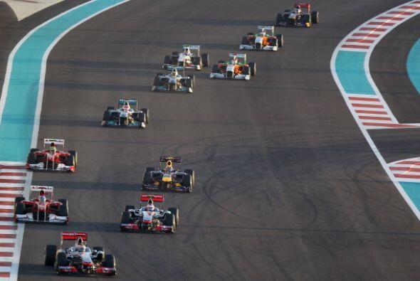 Lewis Hamilton ganó el Gran Premio de Abu Dabi de Fórmula...
