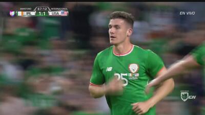 Anulan gol a Irlanda por aparente fuera de lugar