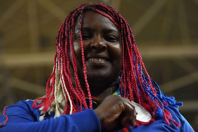 La cubana Idalys Ortiz ganó la presea de plata en judo 78 kg. La frances...