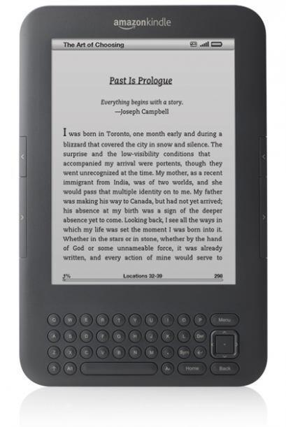 Kindle Keyboard 3G: pantalla de tinta electrónica de alto contraste, el...
