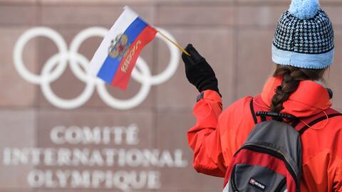"""168 deportistas rusos considerados """"limpios"""" pudieron competir..."""