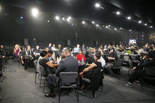 El 'Green Room' del Draft (AP-NFL)