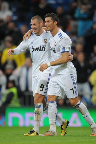 Al minuto 72 llegó el segundo tanto de Cristiano.