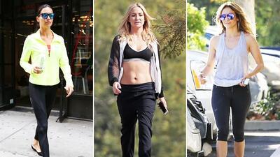 Inspírate en los looks de las celebrities para ejercitarte con estilo