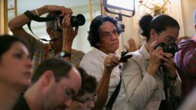 El periodista independiente Reinaldo Escobar, editor de 14ymedio.com, du...
