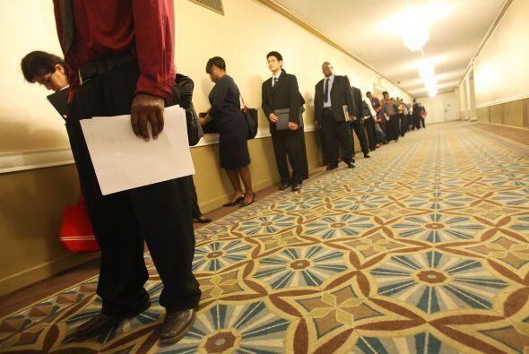 La crisis generó un desempleo nunca antes visto en Estados Unidos...