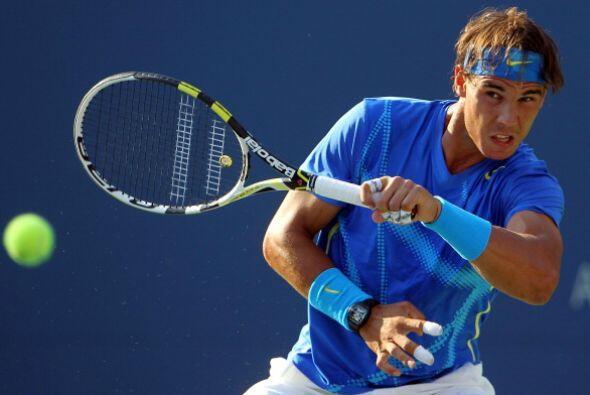 El español Rafael Nadal superó la segunda ronda al vencer al francés Nic...