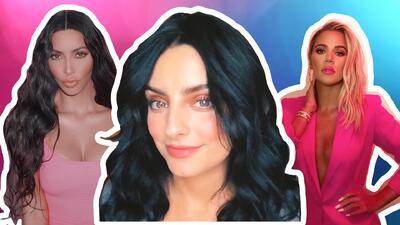 """Aislinn Derbez no quiere verse como una """"drag estilo Kardashian"""" y revela su mayor problema con el maquillaje"""