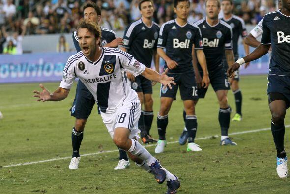 El Galaxy obtuvo una clara victoria por goleada en casa ante Vancouver W...