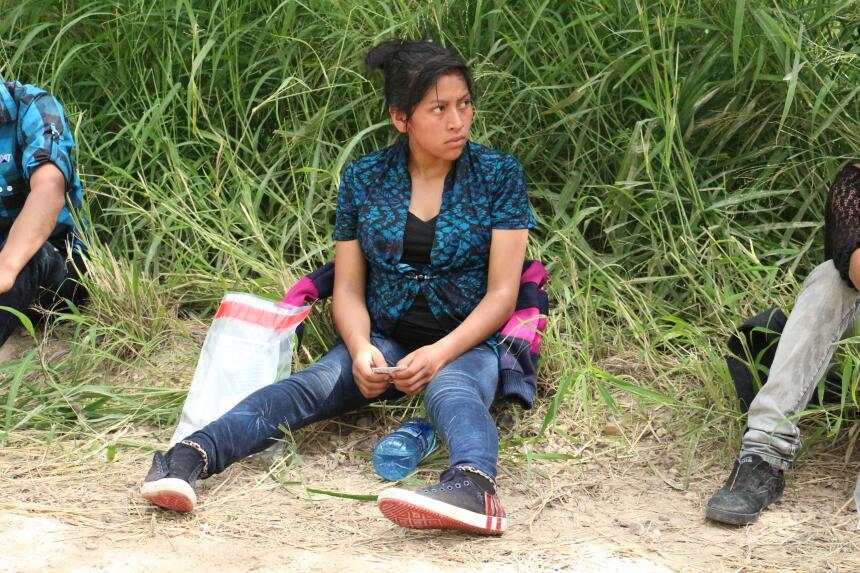 Esta joven guatemalteca tenía nueve meses de embarazo cuando llegó a Est...