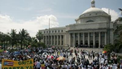 El Capitolio de Puerto Rico, en una imagen de archivo.