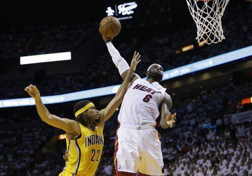 El Heat recibió  Pacer en el juego seis de la final de la Conferencia de...