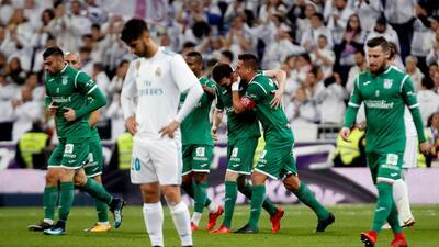 En fotos: así fue la nueva debacle del Real Madrid y la sorpresa que le dio Leganés en el Bernabéu