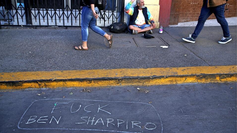 Berkeley protesta Shapiro