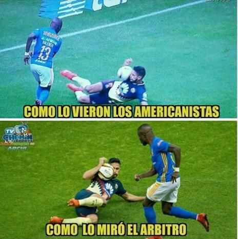 Memes América vs. Tigres