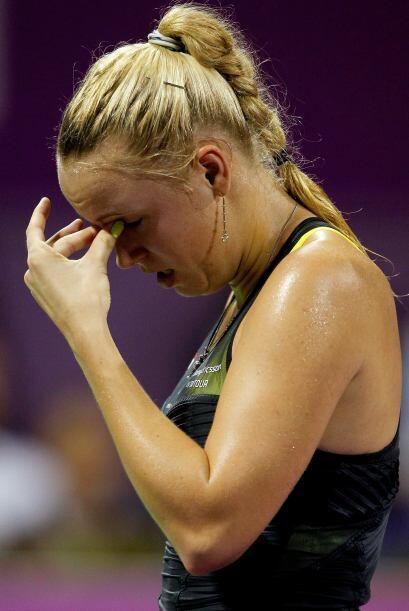 Wozniacki tendrá que esperar para que llegue el trofeo 13, en su carrera.