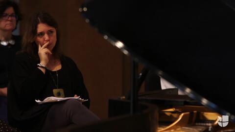 La pianista venezolana Gabriela Montero protesta por el mundo a través d...