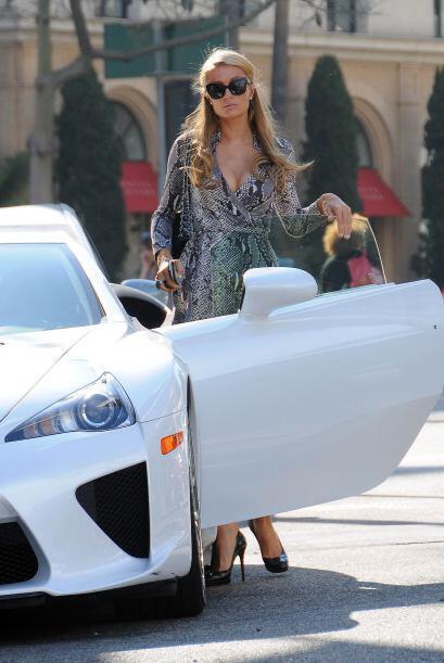 Nada más y nada menos que Paris Hilton. Mira aquí lo último en chismes.