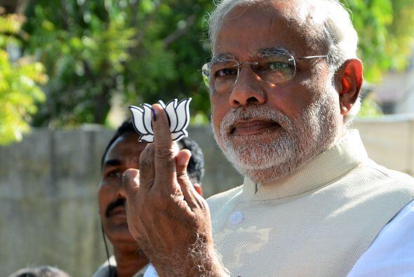 Bharatiya Janata Party, el candidato a primer ministro del principal par...