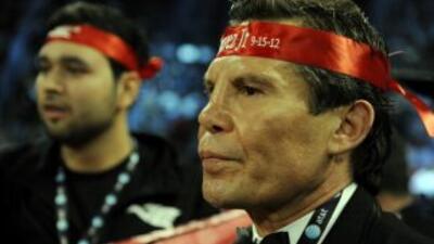 Julio César Chávez volvería al ring después de 10 años.