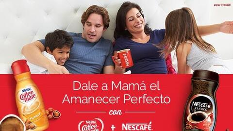 ¡Dale a Mama el Amanecer Perfecto con Coffee-Mate and Nescafé!
