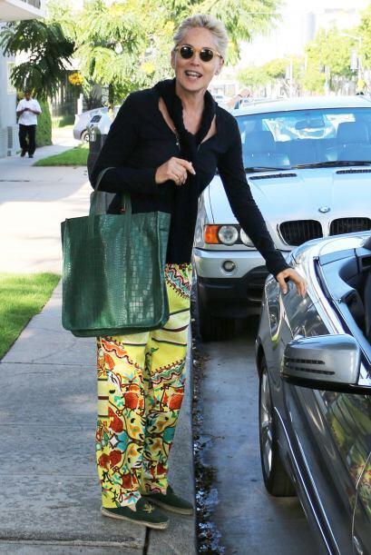 ¡A la que se le zafó un tornillo esta semana fue a la actriz Sharon Ston...