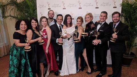 Diecinueve periodistas de Univision Noticias 23 fueron galardonados por...