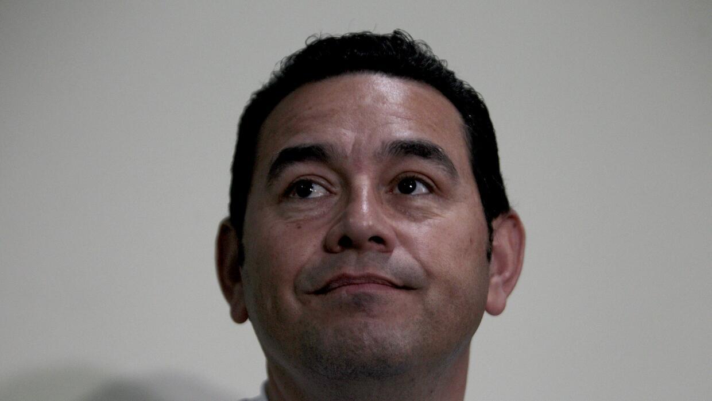 Antes de llegar a la Presidencia, Jimmy Morales era un conocido cómico.