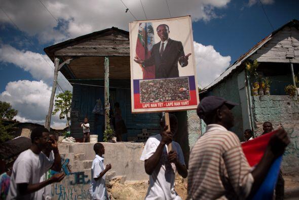 Aristide, un ex sacerdote y el primer presidente de Haití elegido democr...