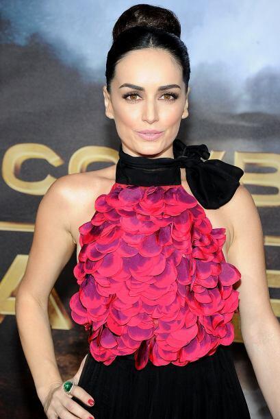 Ana ha tenido participaciones en varias películas de Hollywood.
