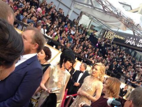 La querida Jessica Maldonado estuvo en la alfombra roja del Oscar y nos...