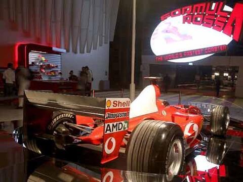 En la sección Formula Rossa están algunos de los modelos q...