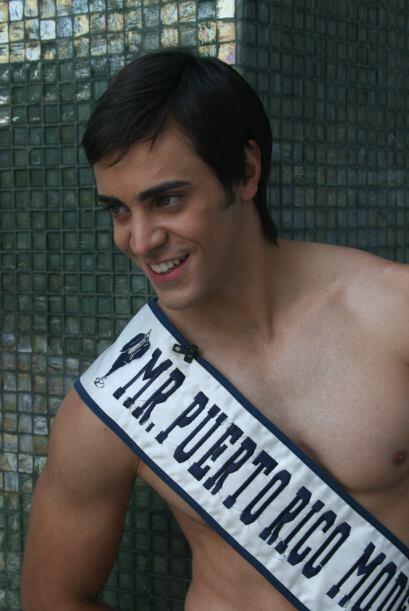 ¿Tú saldrías con un galán como Mr Puerto Rico?
