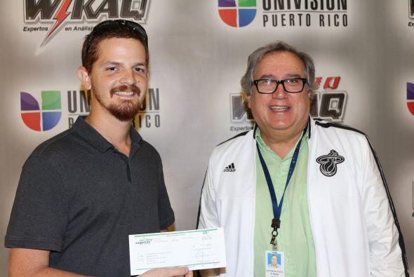 Armando Rey piensa guardar los $250.00 dólares de Money Express y WKAQ58...