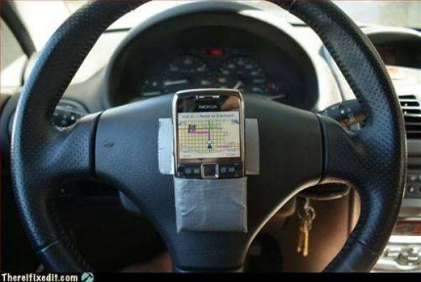 """Aquí esta el """"GPS"""" que andabas buscando!     Foto Crédito: Twitter"""