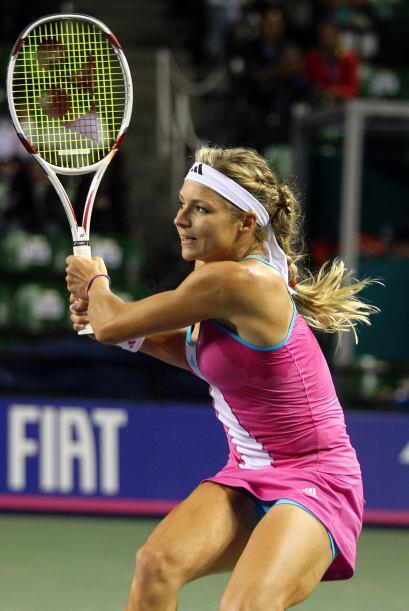 La rusa solo necesitó de dos sets para imponerse a la campeona del US Open.