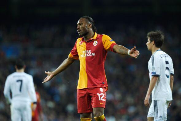 Frustración del Galatasaray que se veía claramente superado en juego y g...