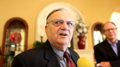 Continúa el proceso legal contra Arpaio por perfil racial GettyImages-10...