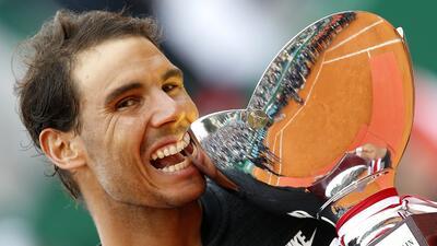 Rafael Nadal brilla en su décimo título en el Masters 1000 de Montecarlo