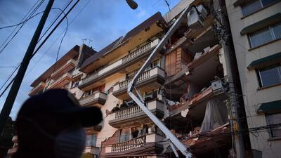 El terremoto de septiembre pasado en la capital mexicana alcanzó los 7.1...
