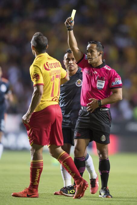 Morelia y Chivas se quedan dormidos en el Morelos Arbitro Jorge Isaac Ro...