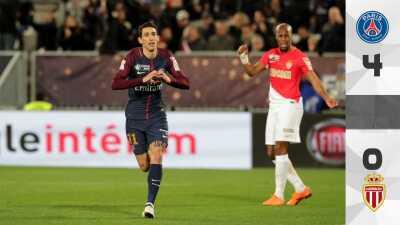 PSG se queda con la Supercopa de Francia tras golear al Mónaco